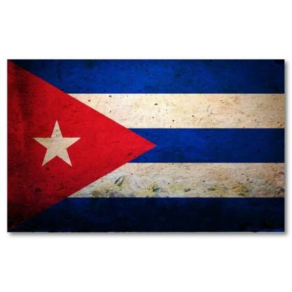 Αφίσα (Κούβα, σημαία, πόλη)